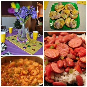 mardi gras party ideas and recipes