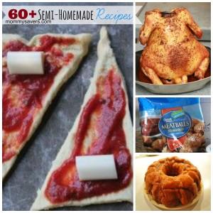 60+ Semi-Homemade Recipes