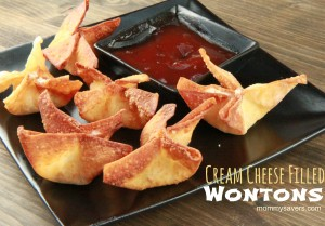Panda Express cream cheese filled wontons