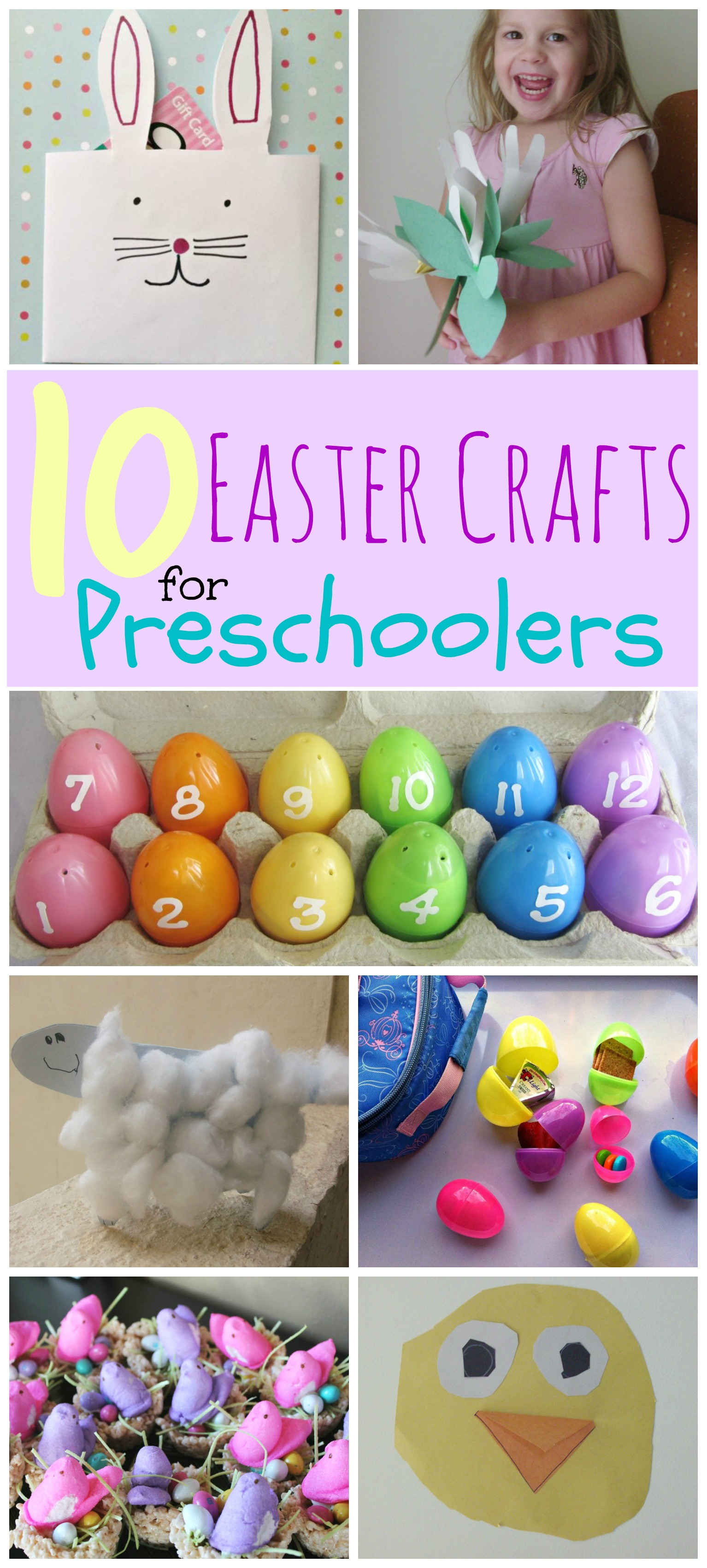 Easy Handprint Easter Crafts