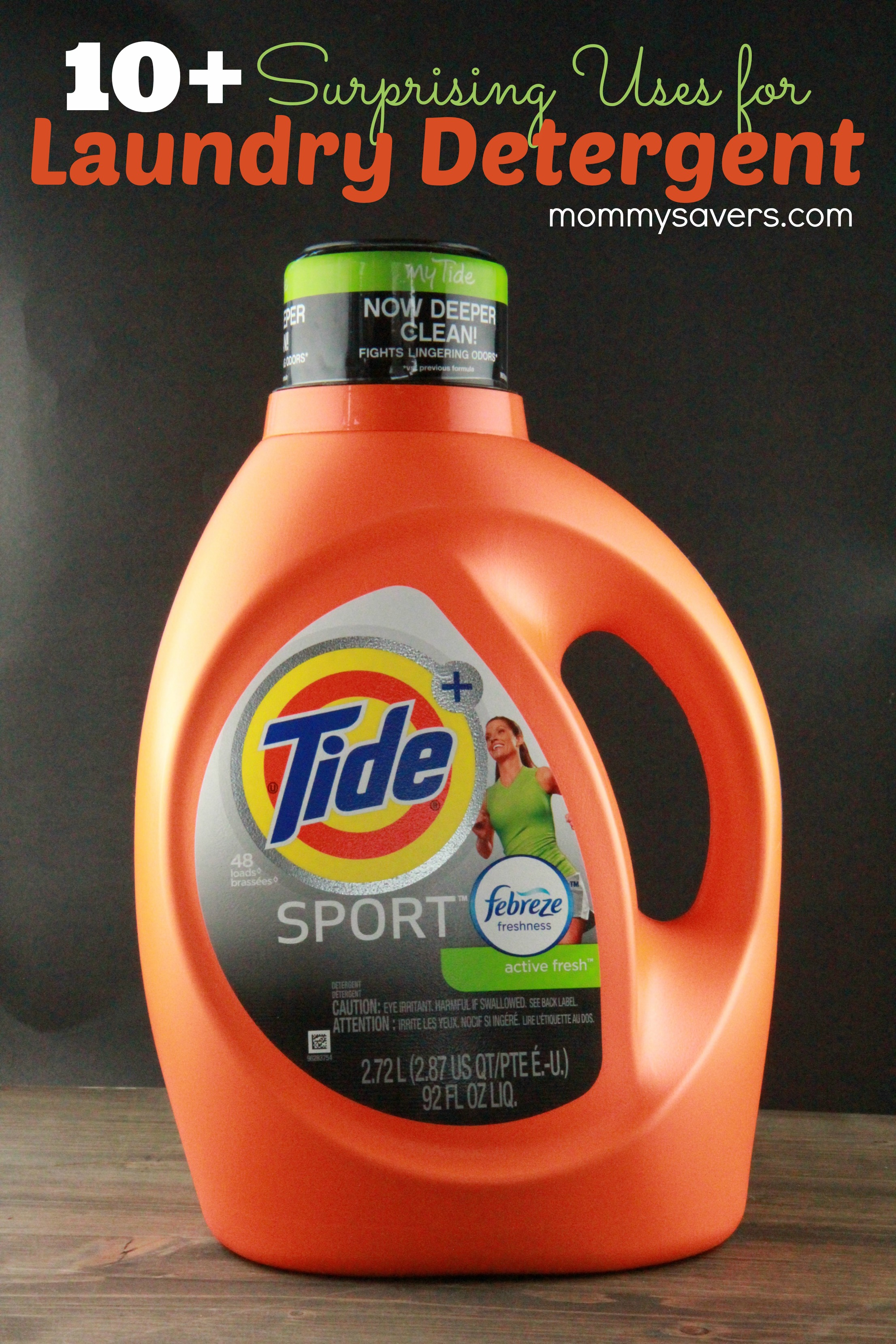 10 Other Uses For Laundry Detergent Mommysavers