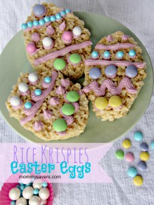 rice krispies easter eggs