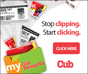 My Cub Rewards Card:  Stop Clipping, Start Clicking