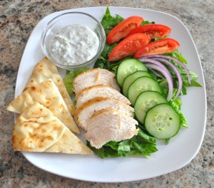 chicken gyro