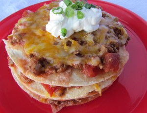 Taco Stack {Freezer Meal}