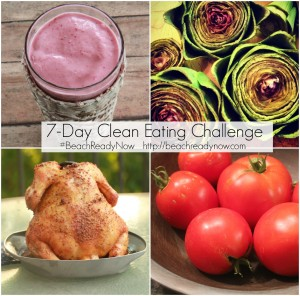 7-Day Frugal Clean Eating Challenge