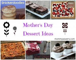 mother's day dessert ideas