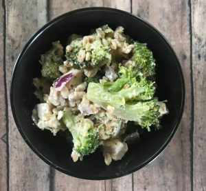 broccoli farro salad