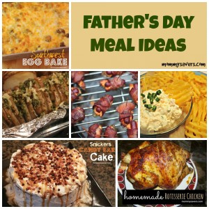 Father's Day Meal Ideas