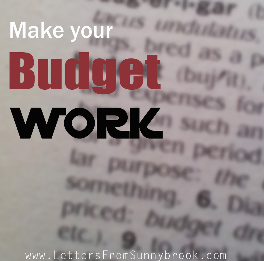 Make Your Budget Work for You
