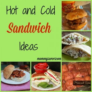 hot and cold sandwich ideas