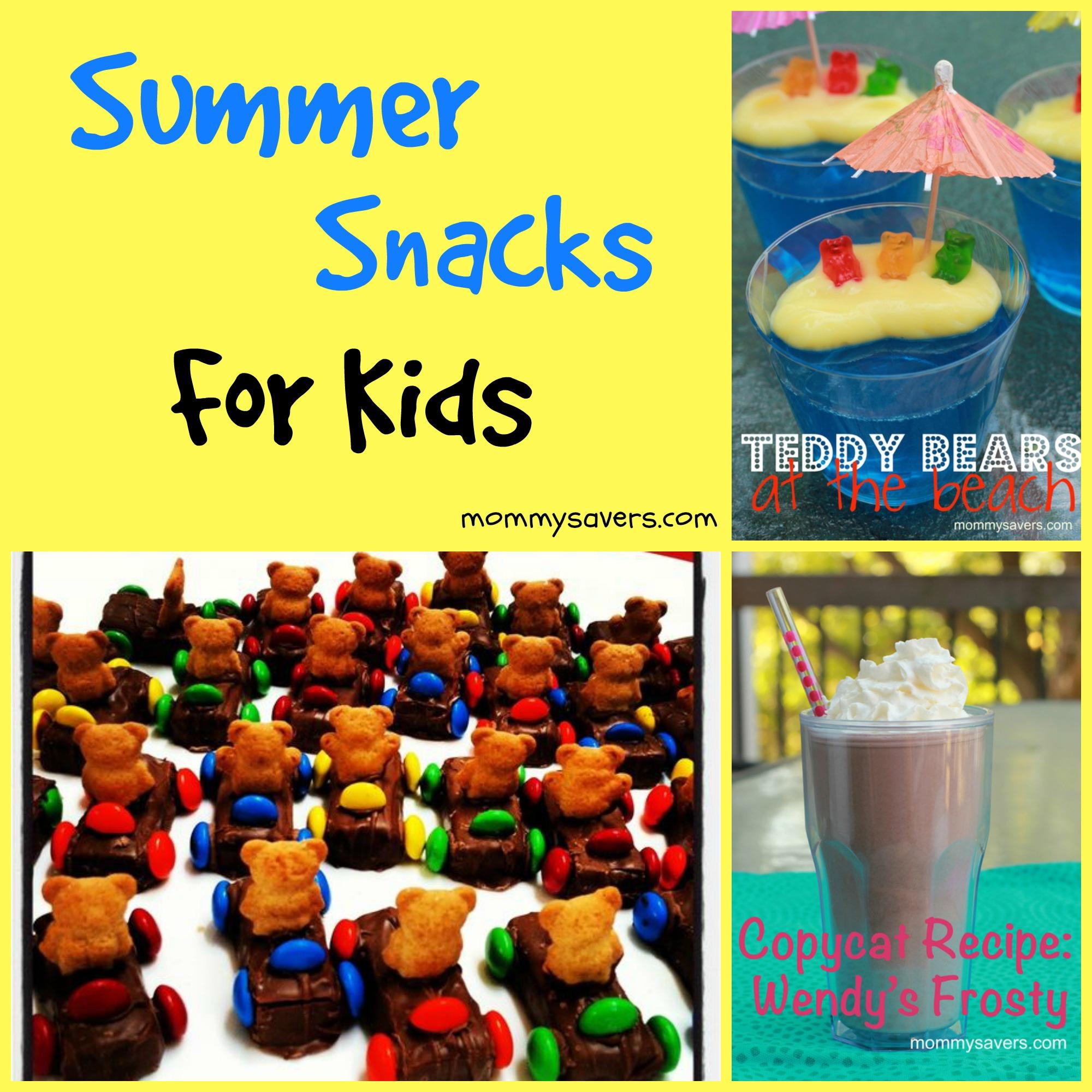 Summer Snacks For Kids Mommysavers