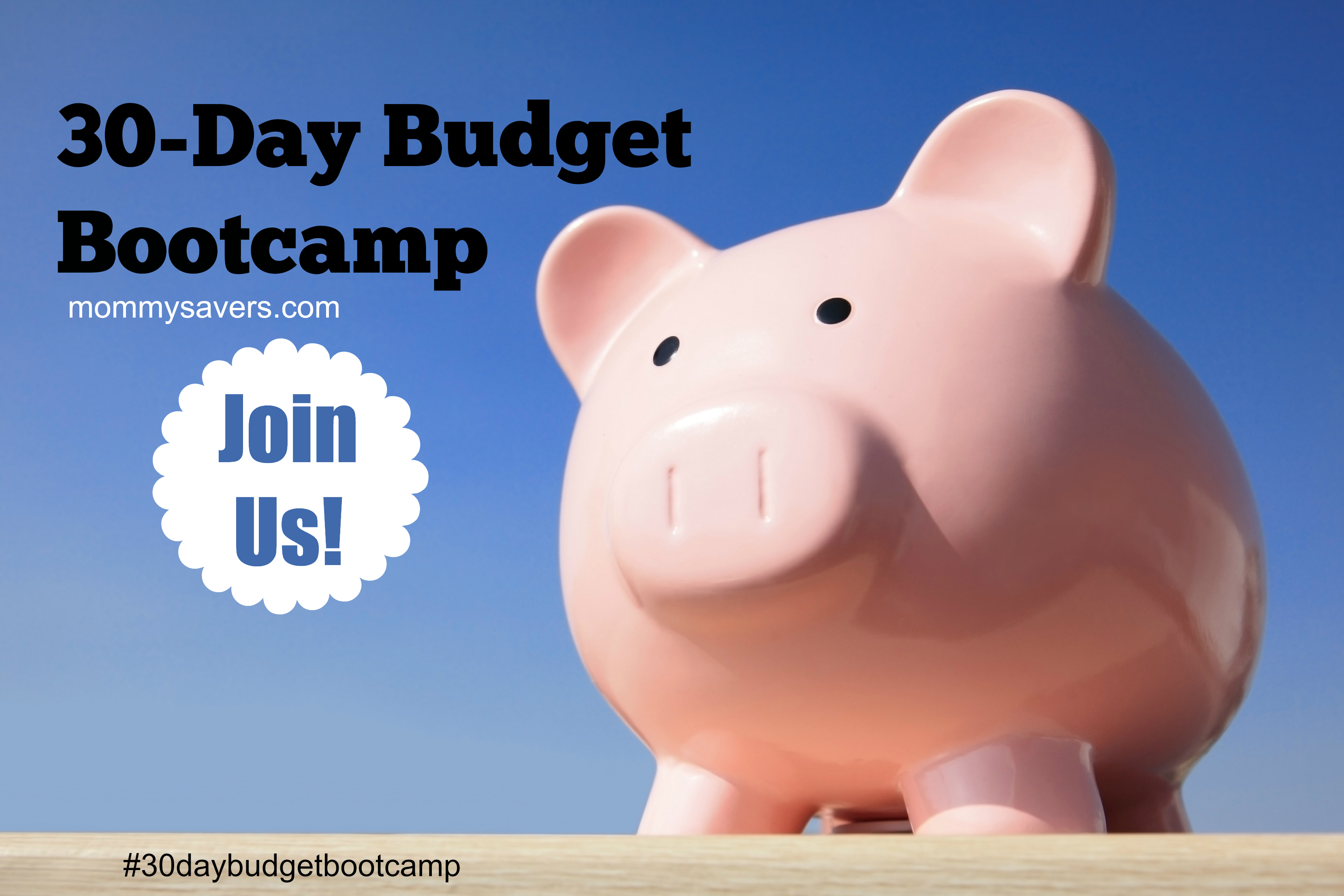 30-Day Budget Bootcamp Challenge
