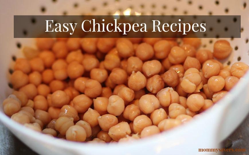 easy chickpea recipes