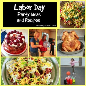 Labor Day Party Ideas and 25+ Recipes