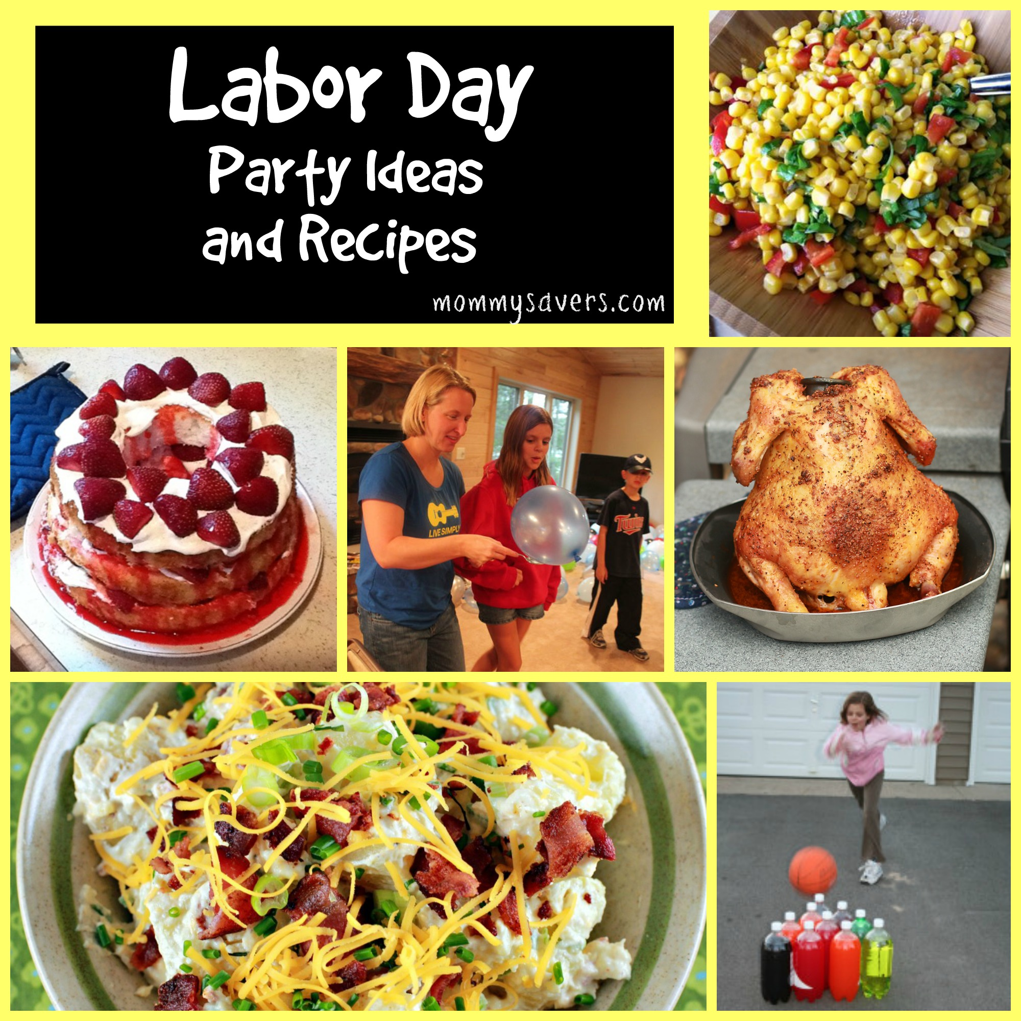 labor day party ideas and 25+ recipes - mommysavers