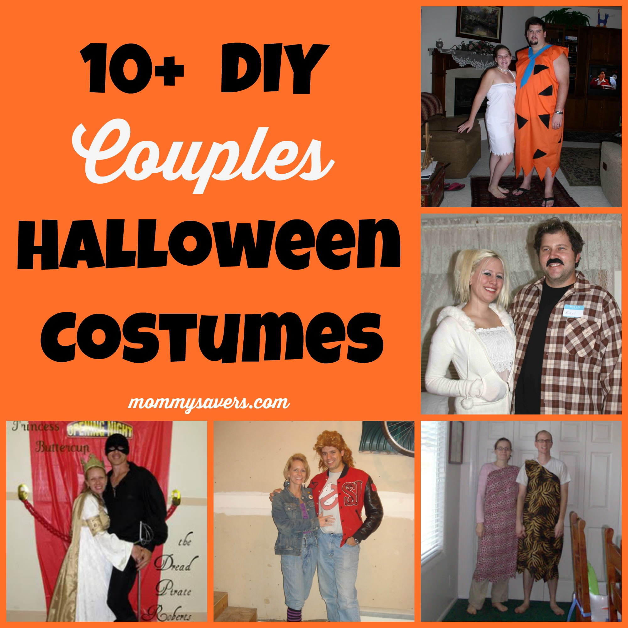 diy couples halloween costumes (10+ ideas) - mommysavers