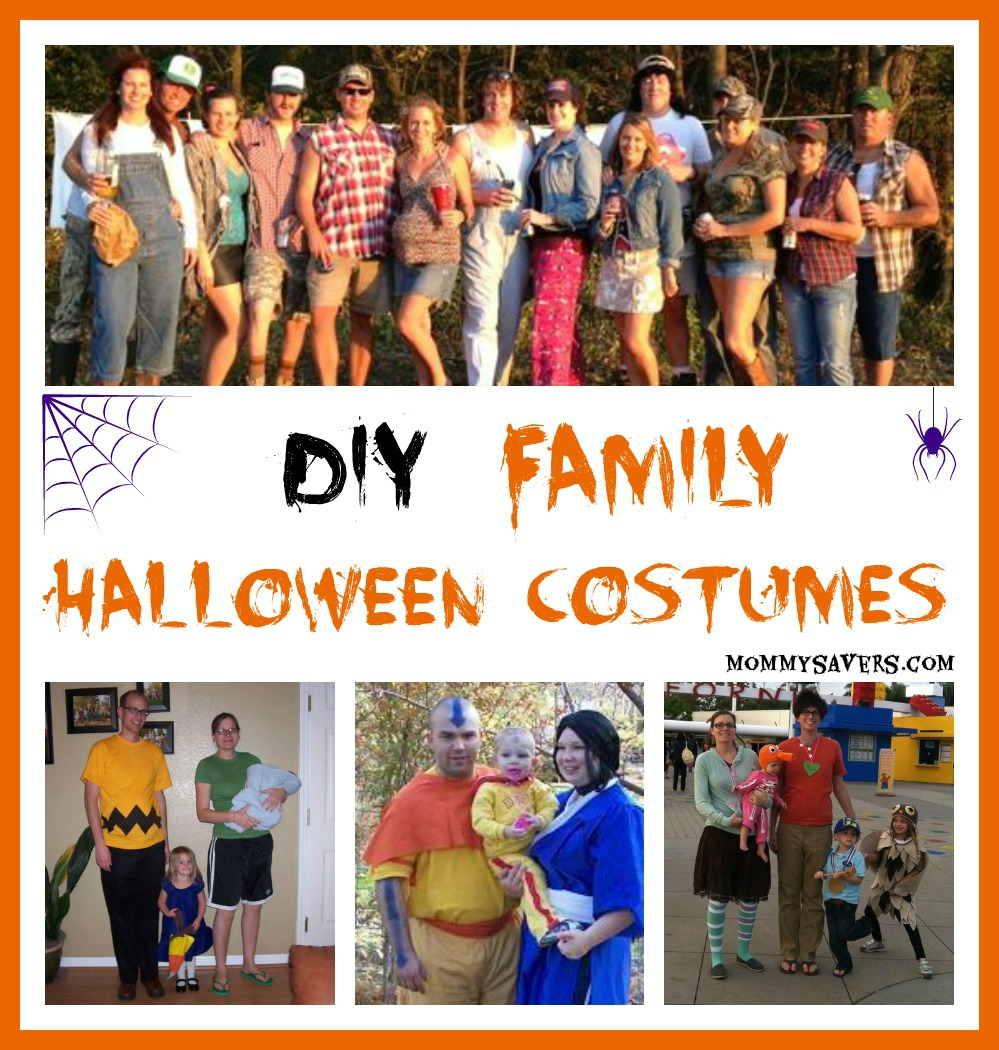 Diy family halloween costumes mommysavers diy family halloween costumes solutioingenieria Images