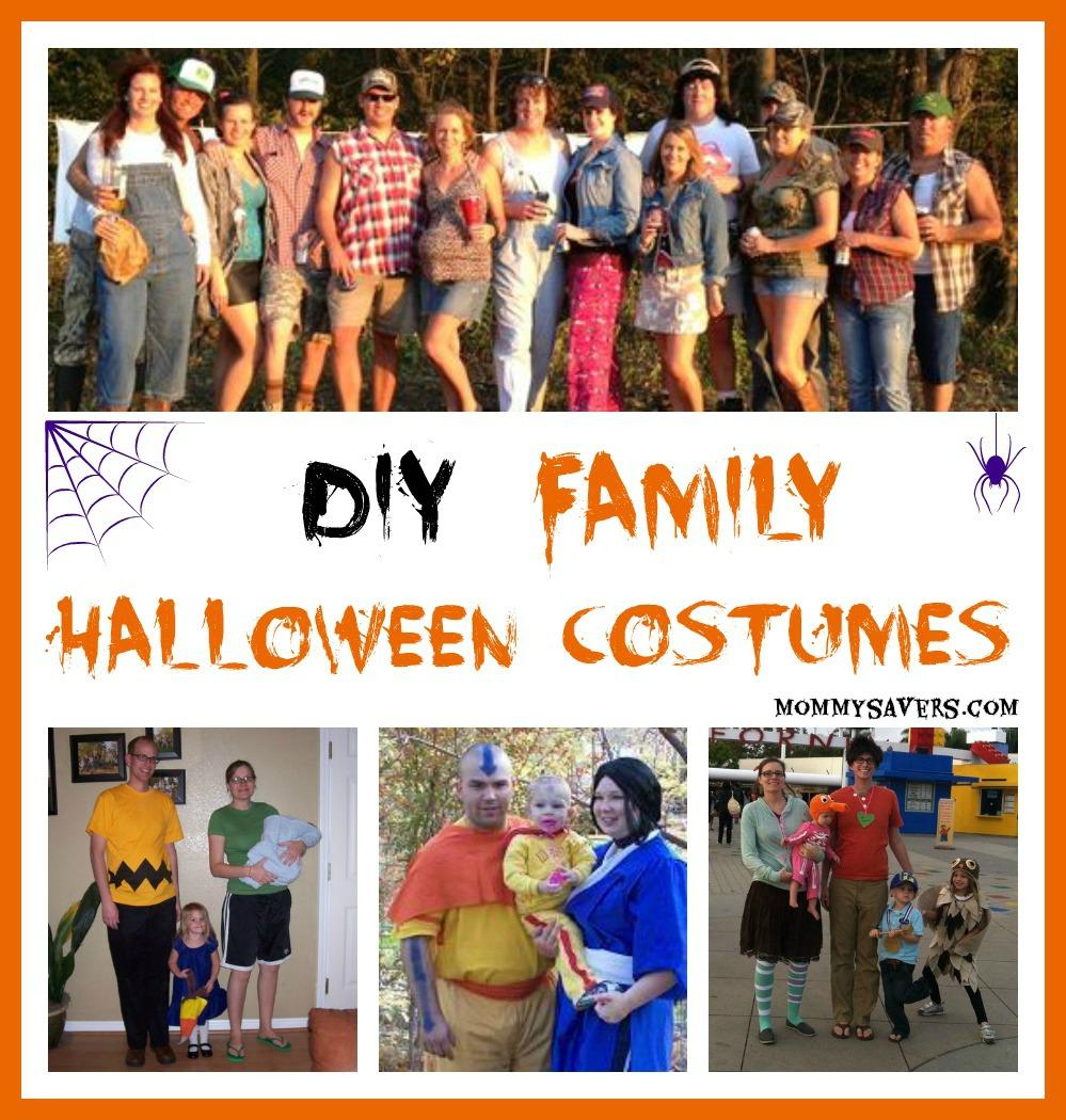 Diy Family Halloween Costumes.Diy Family Halloween Costumes Mommysavers