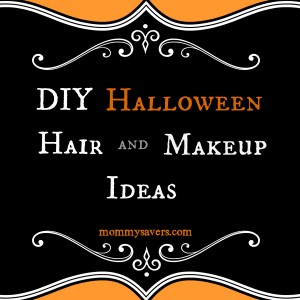 diy halloween hair and makeup ideas