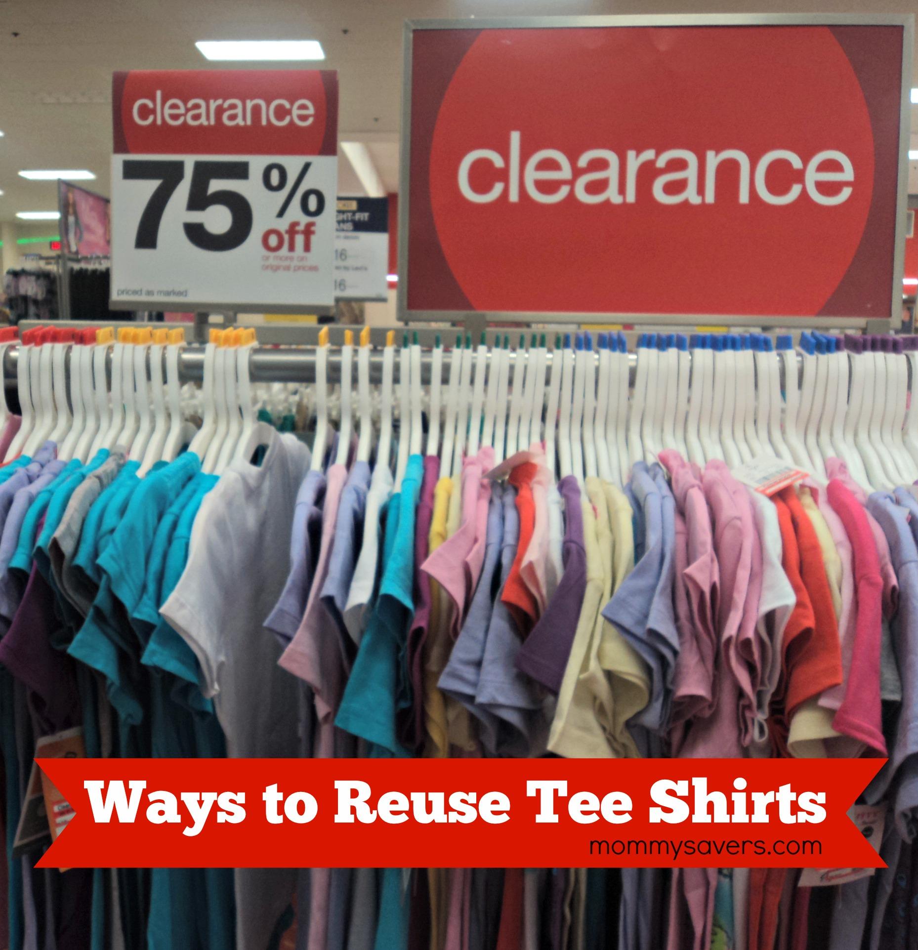 Cool Ways to Reuse Tee Shirts