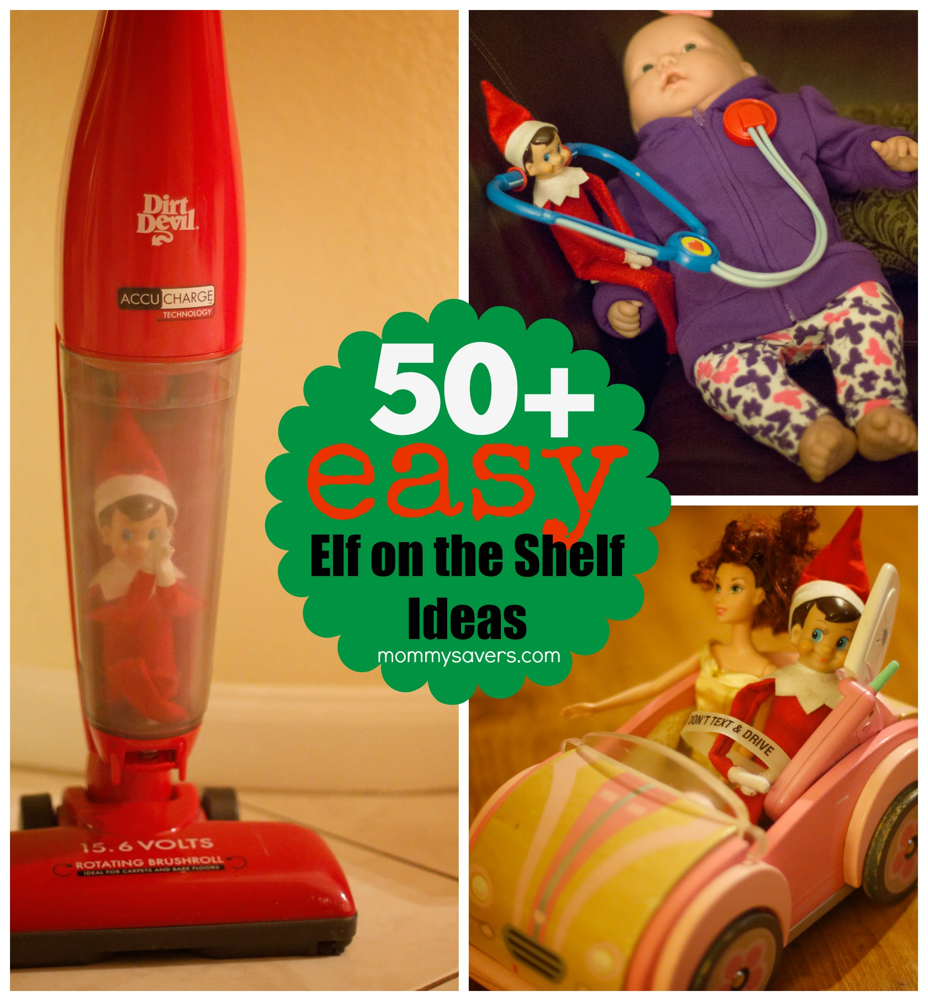 Easy Elf On The Shelf Ideas Mommysavers
