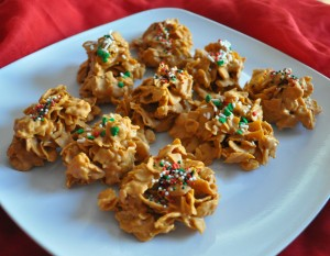 Christmas Treats: Butterscotch Crunchies