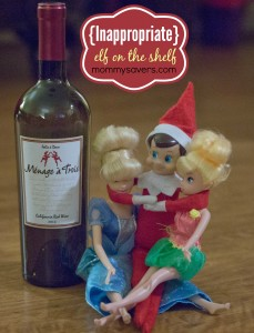 Inappropriate Elf on the Shelf Ideas (Adults ONLY!)