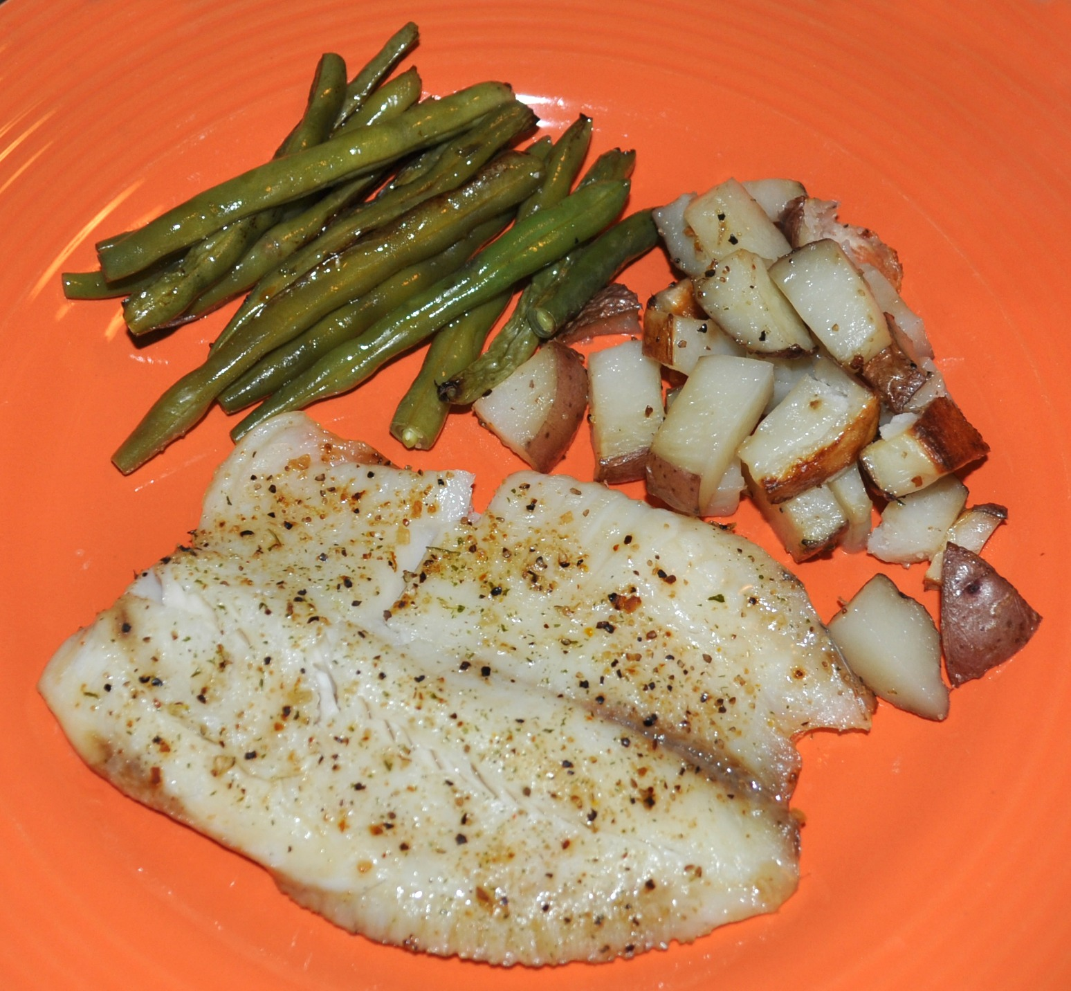 Oven Baked Tilapia With Fresh Veggies Mommysavers