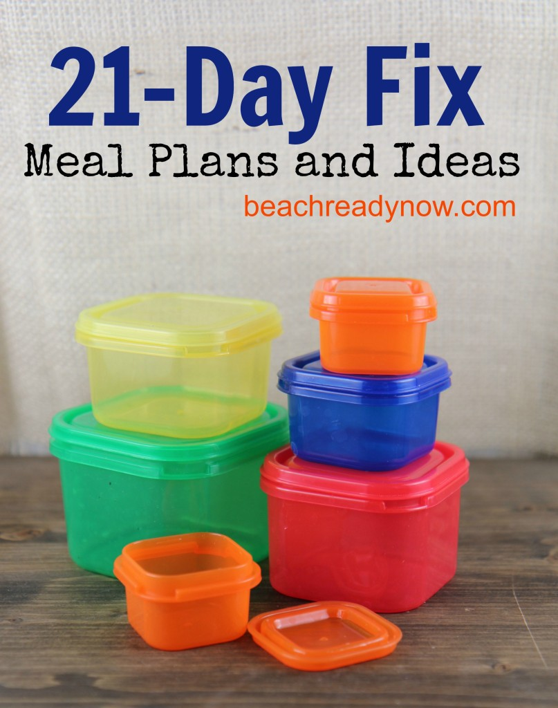 21 Day Fix Eating Plan Book