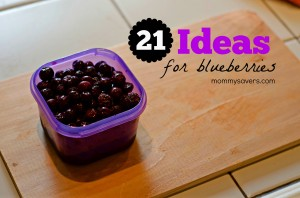 21 Day Fix:  21 Ideas for Blueberries