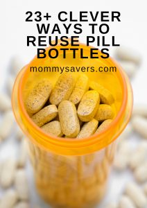 23 Clever Ways to Reuse Prescription Pill Bottles