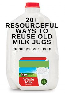 20+ Resourceful Ways to Reuse Old Milk Jugs