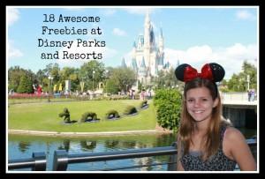 Freebies at Disney Parks
