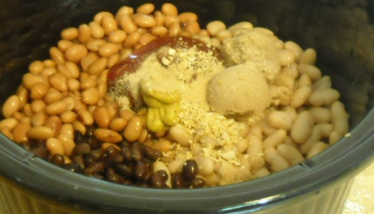 Crock Pot Recipes:  Hearty Baked Beans  (Great for the Freezer)