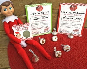 Elf on the Shelf:  Christmas in July