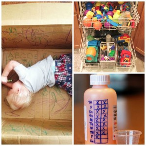 10 Cool Parenting Hacks:  Babies and Toddlers