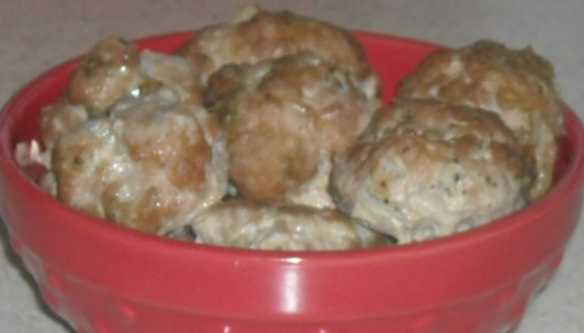 Clean Eating Italian Style Turkey Meatballs (Freezer Meal)