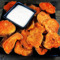 Sweet Potatoe Chips and Dip