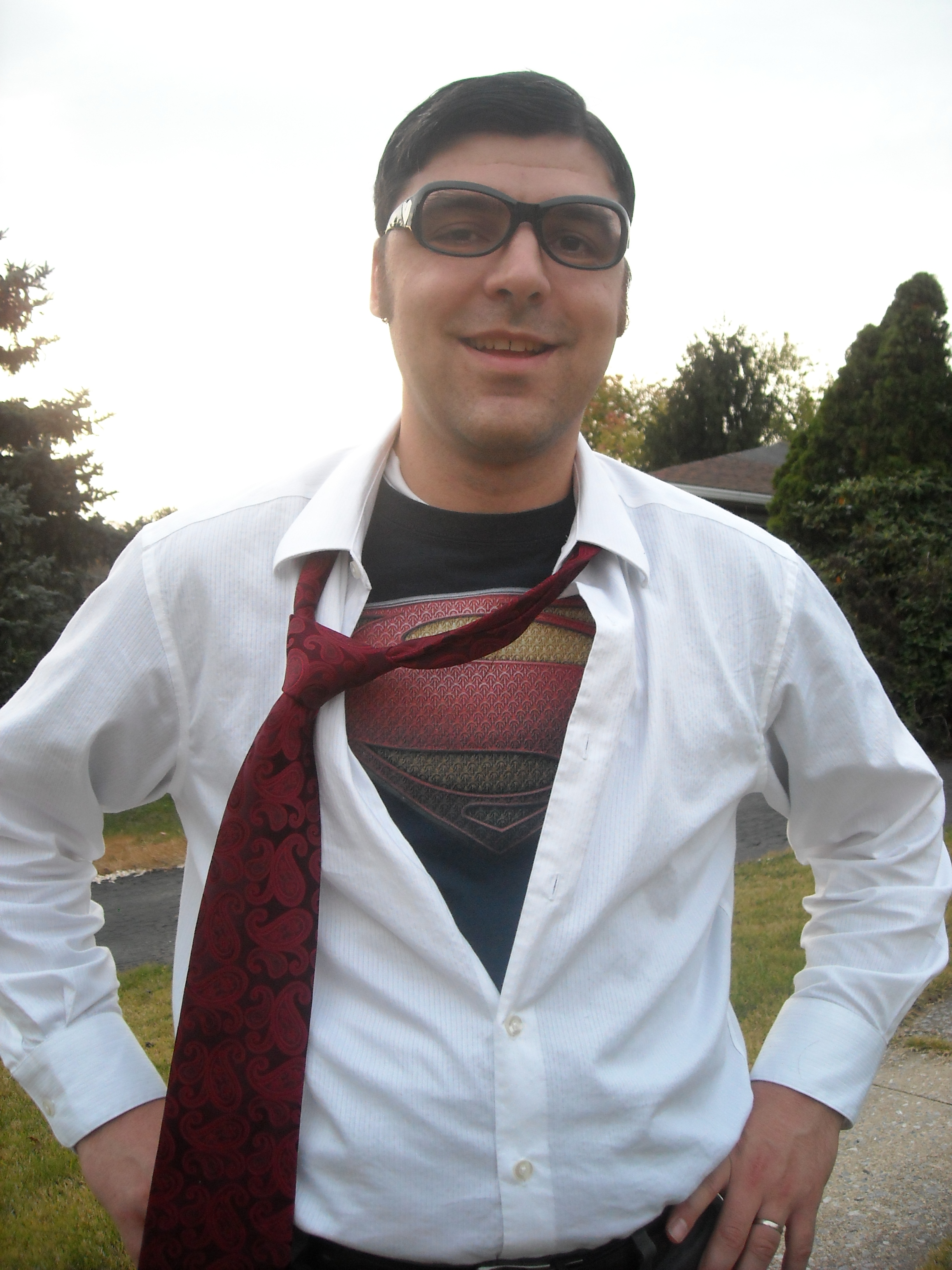 Clark Kent This is my husband last year. I love this costume!  sc 1 st  Mommysavers : guys halloween costume ideas  - Germanpascual.Com
