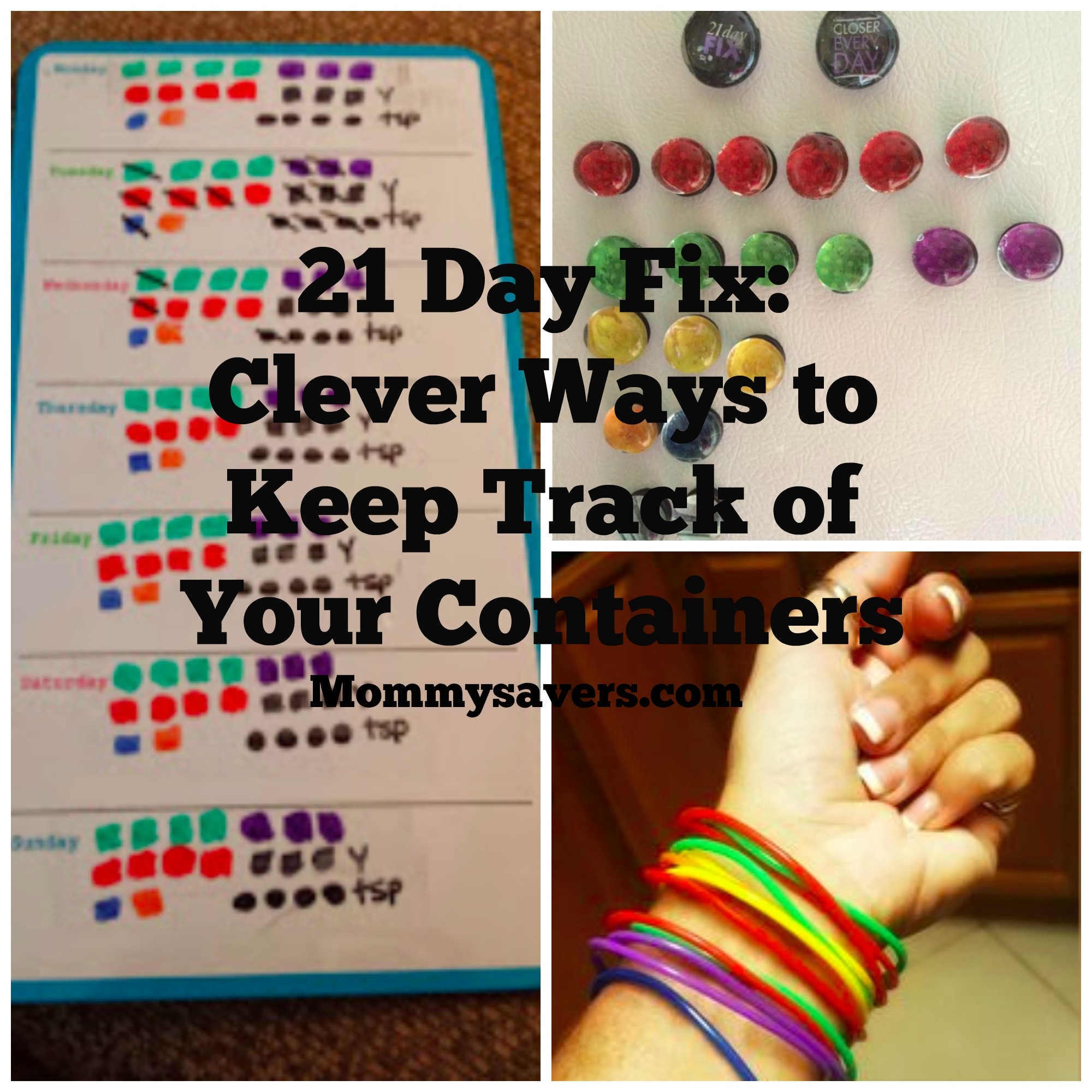 21 Day Fix Container Tracking