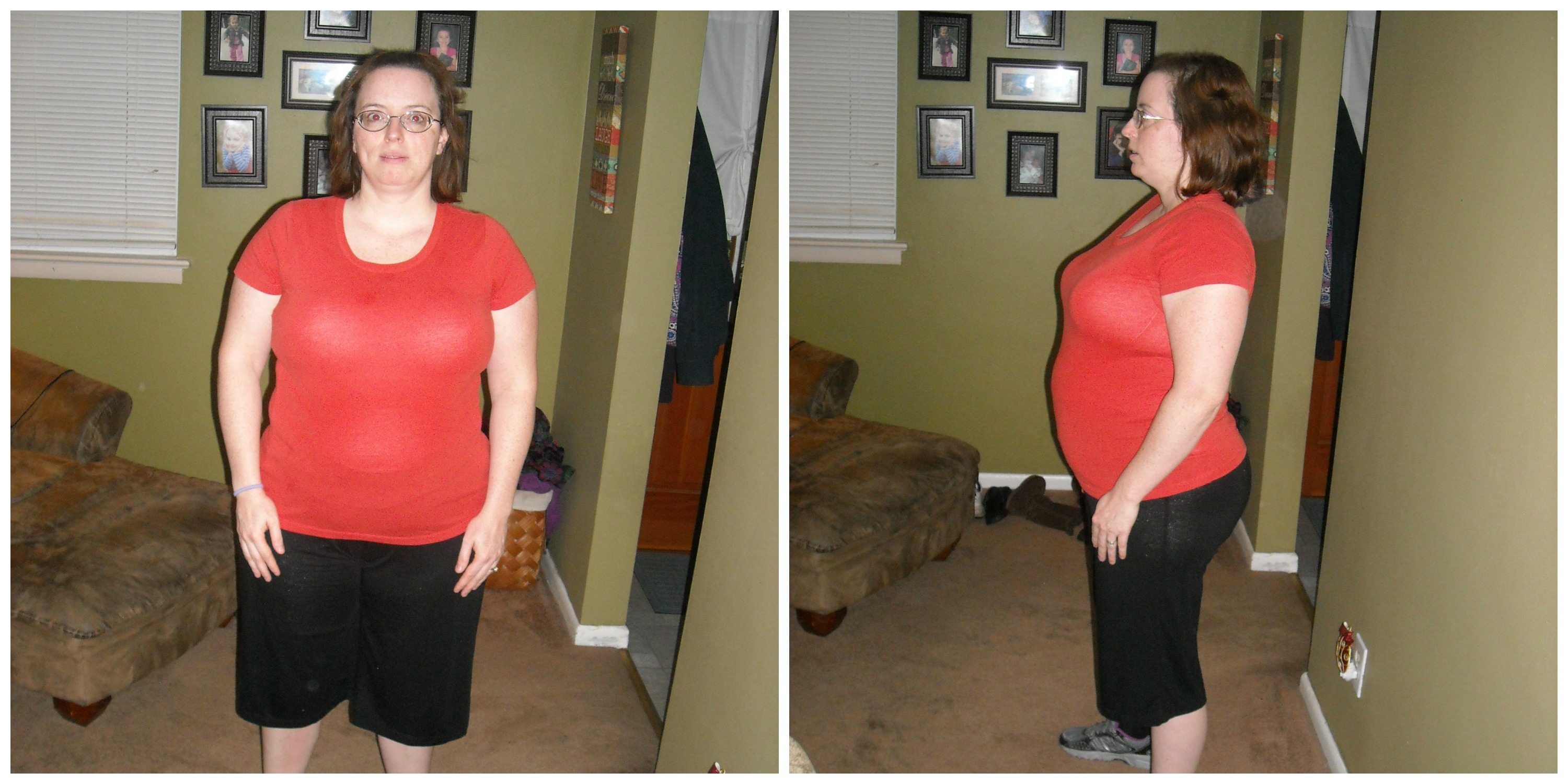 21 Day Fix Round 2 Before Photos  - October 2015