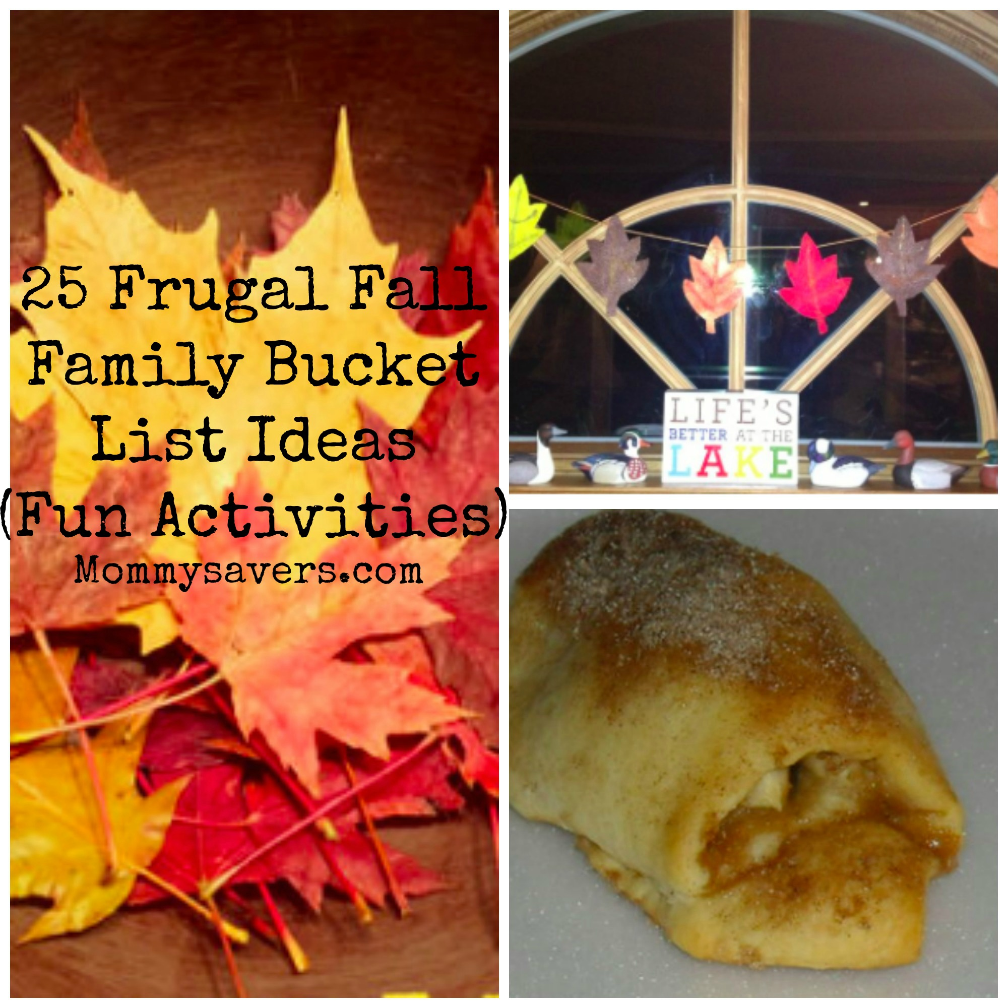 Frugal Fall Bucket List