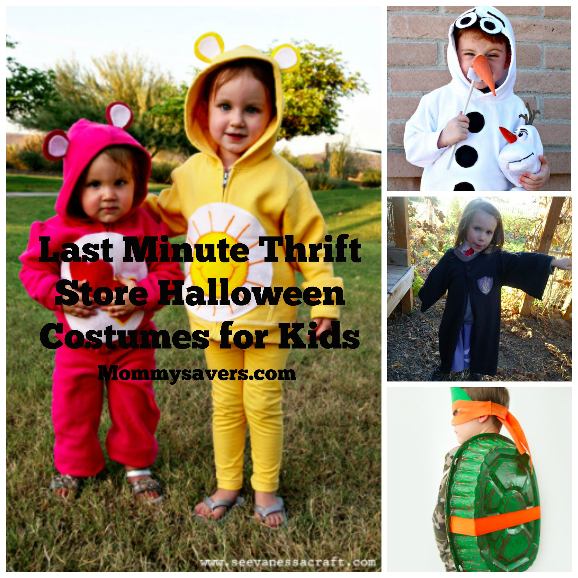 Last Minute Thrift Store Halloween Costumes for Kids ...