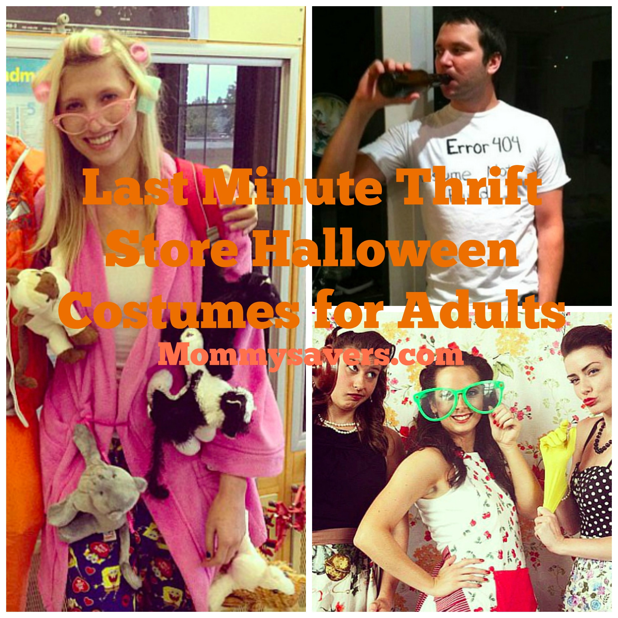Last Minute Thrift Store Halloween Costume Ideas For Adults