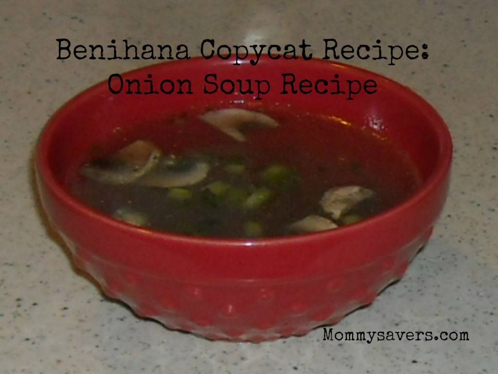 Benihana Copycat Onion Soup