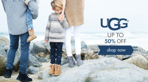 Save up to 50% on UGG Australia Boots and Footwear