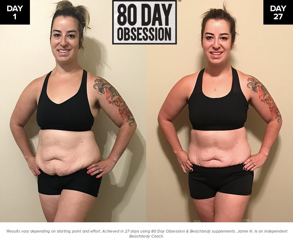80 Day Obsession Before and After PHotos
