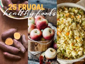 Frugal Healthy Foods