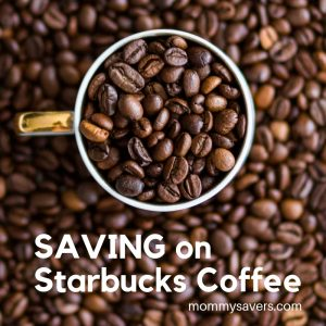 Saving Money on Starbucks Coffee